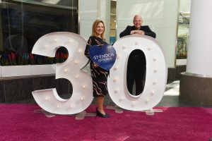 St. Enoch Centre - support 3 charities to celebrate their 30th Birthday. 3 for 30.