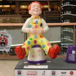 Image of Oor Celebration Wullie. Part of the Oor Wullie's Big Bucket Trail.