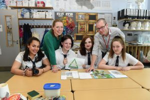 Circular Economy Team visit Hillhead High School