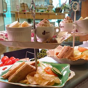 enjoy afternoon tea at Kimbles Glasgow for the best lunch