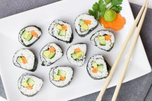 sushi stop in St. Enoch Centre, Glasgow City Centre